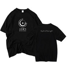 Kpop gfriend album time for the moon night cover même impression t-shirt pour les fans soutien unisexe manches courtes o cou t-shirt(China)