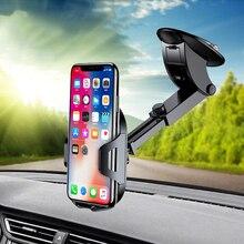 Универсальный автомобильный держатель Smartphone Стенд лобовое стекло на присоске, крепление для iPhone x 5S 6s 7 Plus Xiaomi mi8 мобильного телефона аксессуары