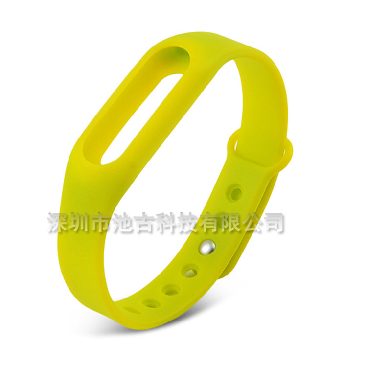 3  Fashion  16MM Silicone Band Strap Buckle Smart Wristband Running Sport Watch Band New Soft Replaceme   B233166 181019  bobo
