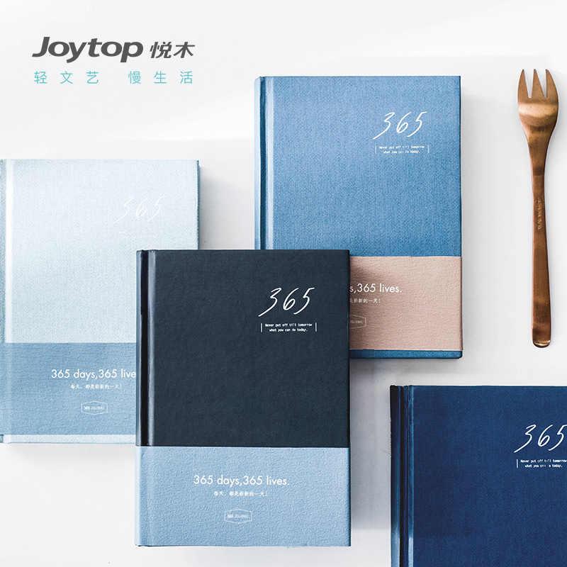 Yinglijia 365 Plan Book Schedule Notebook Fresh Simple Notebook