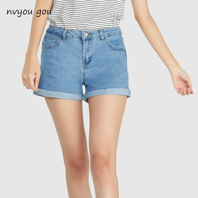 cb42424d33cc16 € 7.74 |Mini short sexy déchiré court jeans femme 2018 été bleu foncé trou  chaud shorts taille haute denim shorts femmes fonds dans Shorts de ...