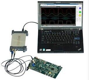 20MHz USB virtual oscilloscope dual channel dual probes 20M цены