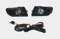 Osmrk OEM halogen fog lamp with front bumper fog light cover frame for mazda 6 M6 2007 2010 with wire harness cable