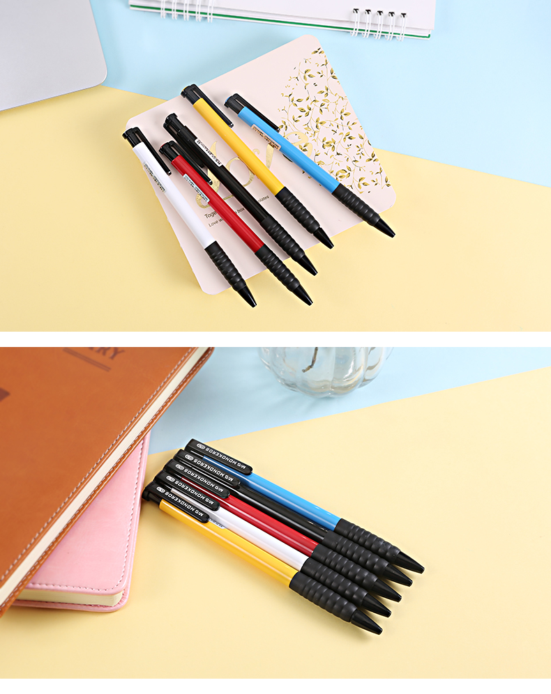 40pcs Box M G Creative Multi Color High Quality Office Ballpoint Pen 0 7mm For Stationary School Supplies Abp41701 In Pens From