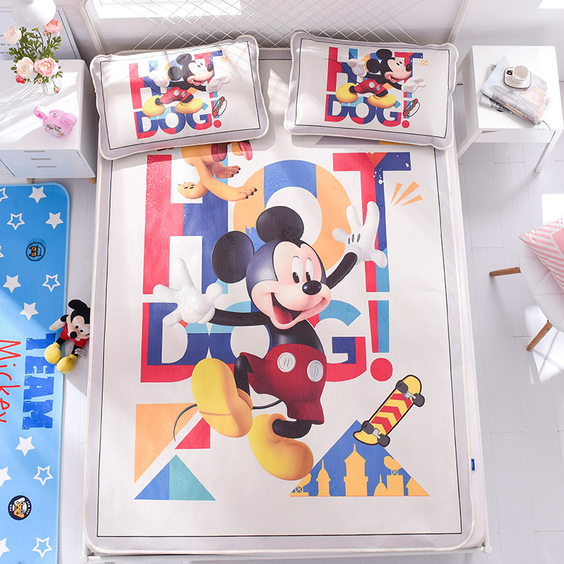 Disney Mickey & Minnie Bed Mattress Protector Cover Bed Mattress Topper Sheet Children Summer Ice Silk Sleeping Bed Mat Set Disney Mickey & Minnie Bed Mattress Protector Cover Bed Mattress Topper Sheet Children Summer Ice Silk Sleeping Bed Mat Set
