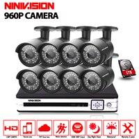 8CH CCTV System Outdoor 8 Camera 960P Camera Security System Home Surveillance System 8ch Security Camera