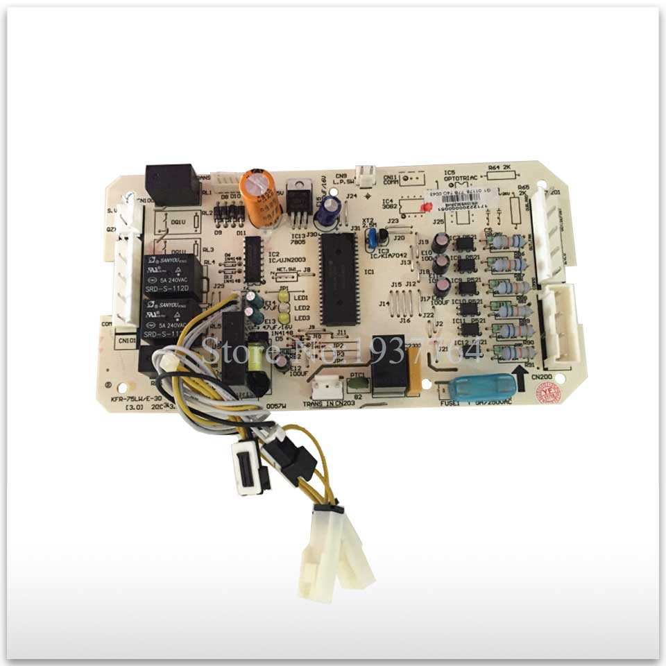 95% new for Air conditioning computer board circuit board KFR-75LW/E-30 KFR-120W/S-590 board good working 95% new for haier refrigerator computer board circuit board bcd 198k 0064000619 driver board good working