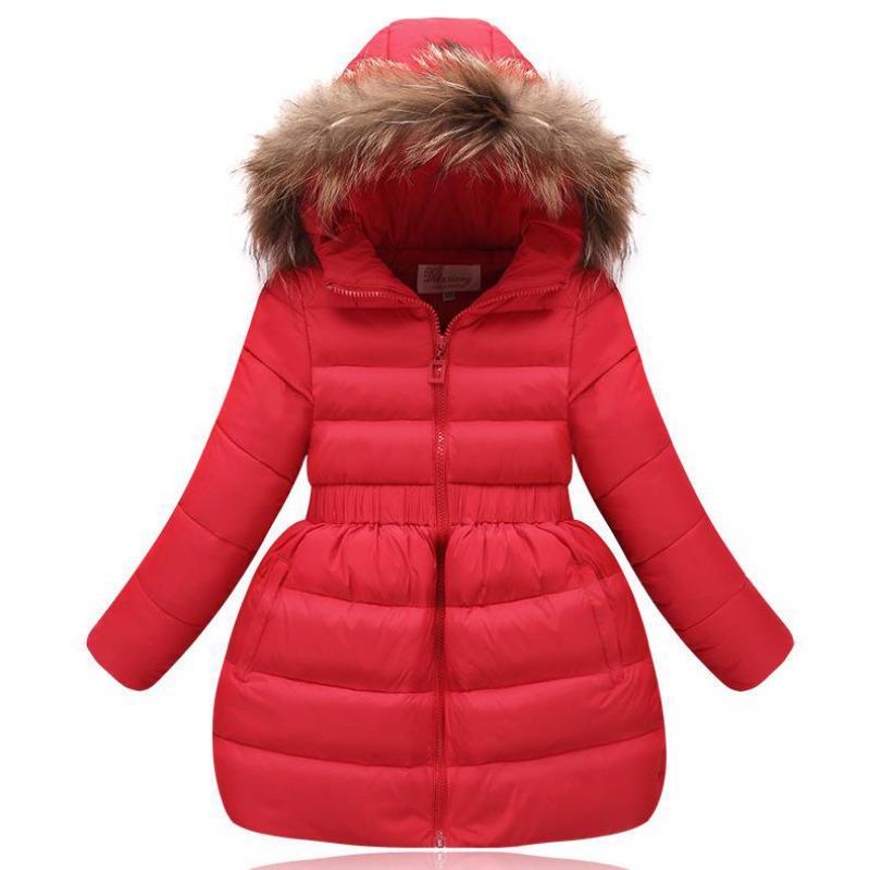 2017 Winter Baby Girls Jackets Kids Warm Jackets For Infant Girls Costume Outerwear Coat Children Jacket Kids Clothes 12 13 14 T