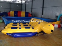 6 banana boats inflatable water floating boat