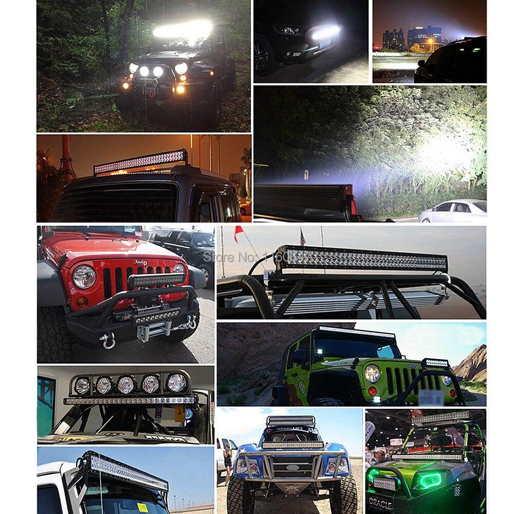 """SOLICHT """" дюймов 18 Вт светодиодный рабочий световая лампа для мотоцикла Трактор Лодка внедорожный 4WD 4x4 грузовик внедорожник ATV Спот Наводнение 12 В 24 В"""