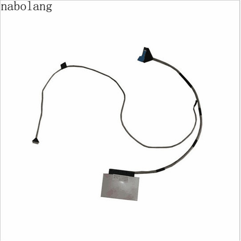 Nabolang New LVDS LCD Screen Video Flex Cable Ribbon