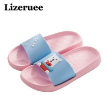 Slippers Women Summer Beach Flip Flops Home Female Fashion Lovely Ladies Casual Slip On Animal Kid Woman Shoes
