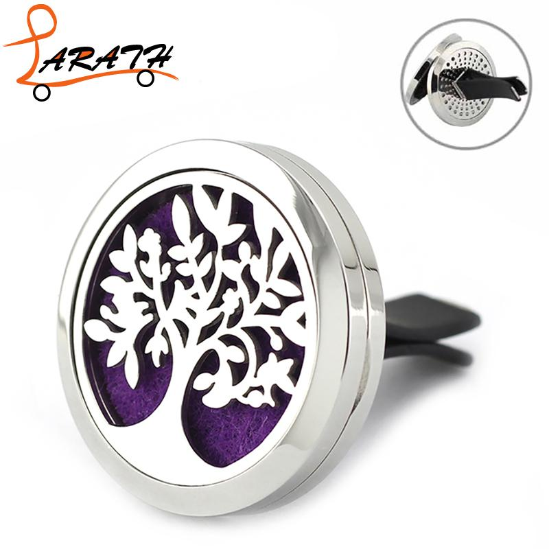 LARATH Hot Sale Car Perfume Clip Tree Shape Air Freshener Auto Car Air Conditioning Qutlet WX1040