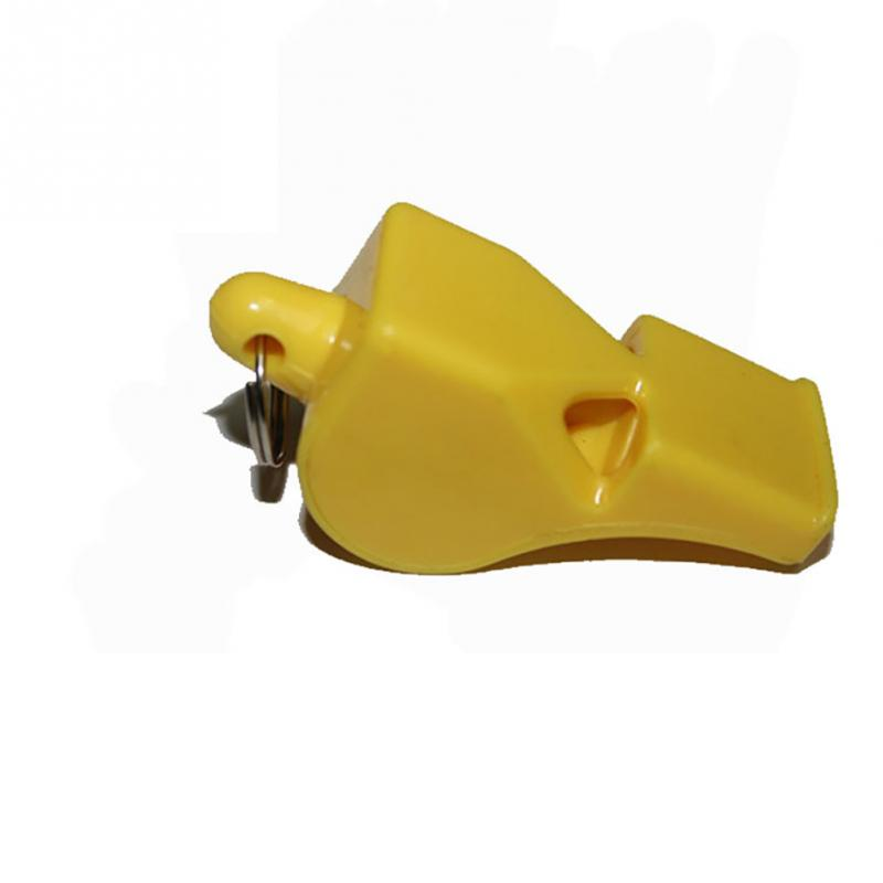 4color Plastic Whistle Referee Whistle Professional Soccer Referee Whistle Basketball Referee Whistles Without String