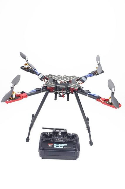 JMT RC Quadcopter RTF Radiolink T6EHP-E TX & RX + QQ Controle de Vôo ESC do motor HMF 4 Eixo Rack Dobrável SEM Carregador de Bateria F11066-E