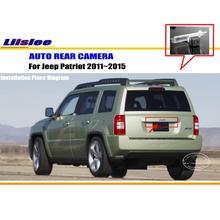 Samochodowa kamera tylna do Jeep Patriot 2011-2015 kamera cofania pojazdu HD CAM tanie tanio Liislee CN (pochodzenie) Plastikowe + Szkło Drutu Pojazd backup kamery ACCESSORIES Z tworzywa sztucznego 2011 2012 2013 2014 2015