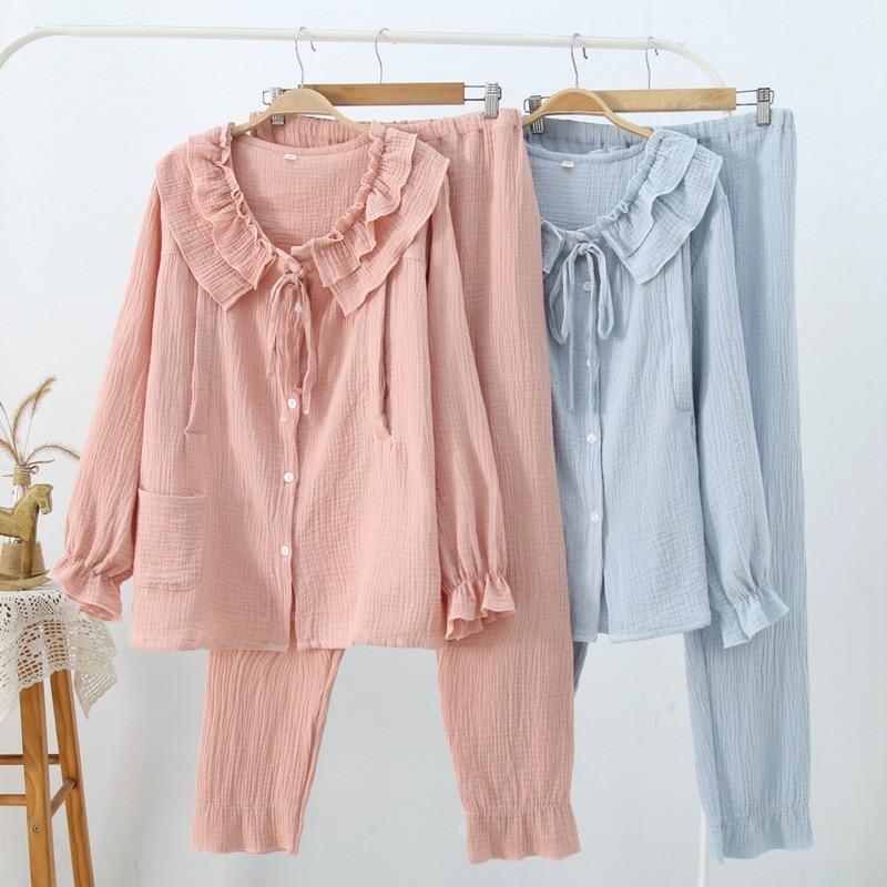 Pijama de algodão Pijamas De Maternidade Para
