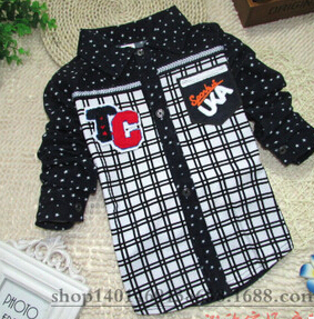 cd0c46c58ef46 Hot Sale 2015 Spring   autumn brand baby boys shirts