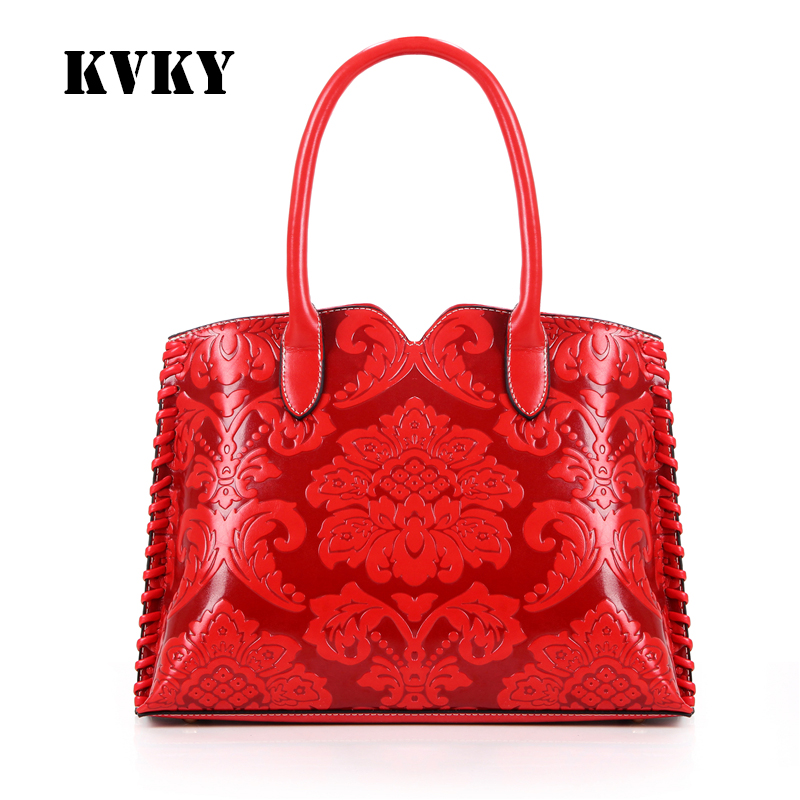 Sky fantasy hot red Chinese style embossed PU classic women shoulder bag vogue fashion cross body girl handbag brand casual tote hot fashion chinese style women handbag embroidery ethnic summer fashion handmade flowers ladies tote shoulder bags cross body