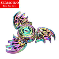 SERMOIDO 2017 New Fidget Toy Game Of Thrones Hand Spinner Metal Finger Stress Tri Spinner Dragon