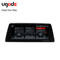 Ugode PX6 Android 8.1 RAM 2G 10.25inch IPS screen Car GPS Navigation Player for BMW 5 series G30 EVO 2018 new product