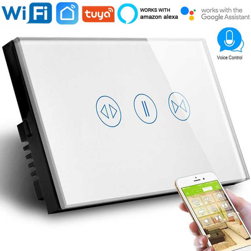 ASEER MỸ WIFI Thông Minh Màn Chuyển 2.4 GHz, hệ thống nhà thông minh Cửa Cuốn Công Tắc alexa & Google Trợ Lý Tiếng Nói Điều Khiển