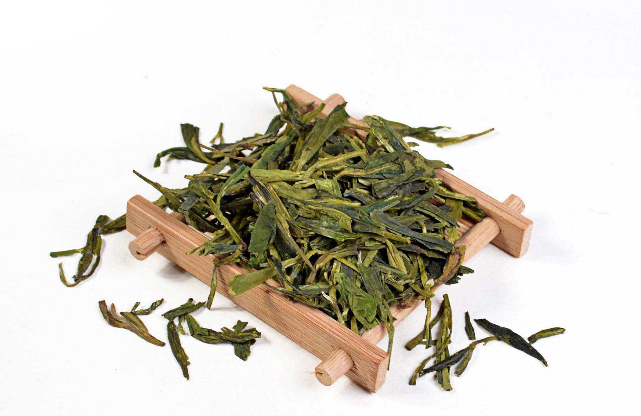[Classique] Beaucoup West Lake Long Jing Thé Organique Séchée Xi Hu Dragon Well Thé Vert