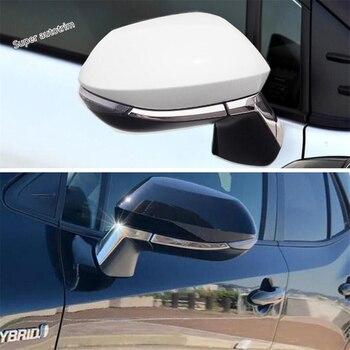 Lapetus الباب الرؤية الخلفية مرآة غاسل قطاع غطاء تقليم صالح لتويوتا كورولا 2019 2020 ABS/زينة الخارجي