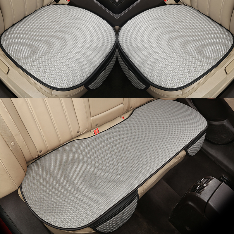 Car <font><b>Seat</b></font> <font><b>Cover</b></font> Four Season Front/Rear Ice silk Cushion for <font><b>Peugeot</b></font> 206 207 2008 <font><b>301</b></font> 307 3008 408 4008 508 car accessories image