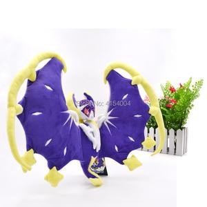Image 3 - 2 arten Delicate Alola Solgaleo Lunala SONNE & MOND Tier Gefüllte Peluche Plüsch Spielzeug Japanischen Anime Action Figure Puppen