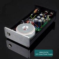 L 042 80 Вт 12 В ~ 48 В индивидуальные DC Линейный Питание специально настроены для HiFi аудио HD коробка NAS маршрутизатор MAC