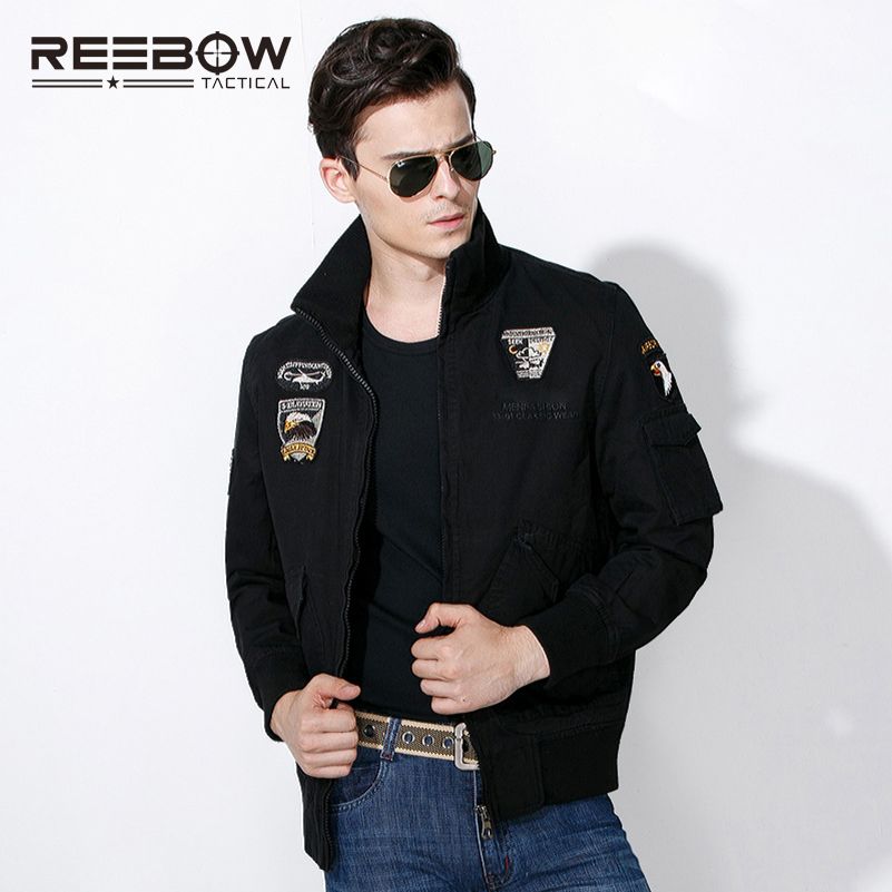 ФОТО REEBOW TACTICAL OUTDOOR MEN MILITARY JACKET WINTER WARM BREATHABLE COAT HUNTING SHOOTING CYCLING MOTORCYCLE RACING PILOT JACKET