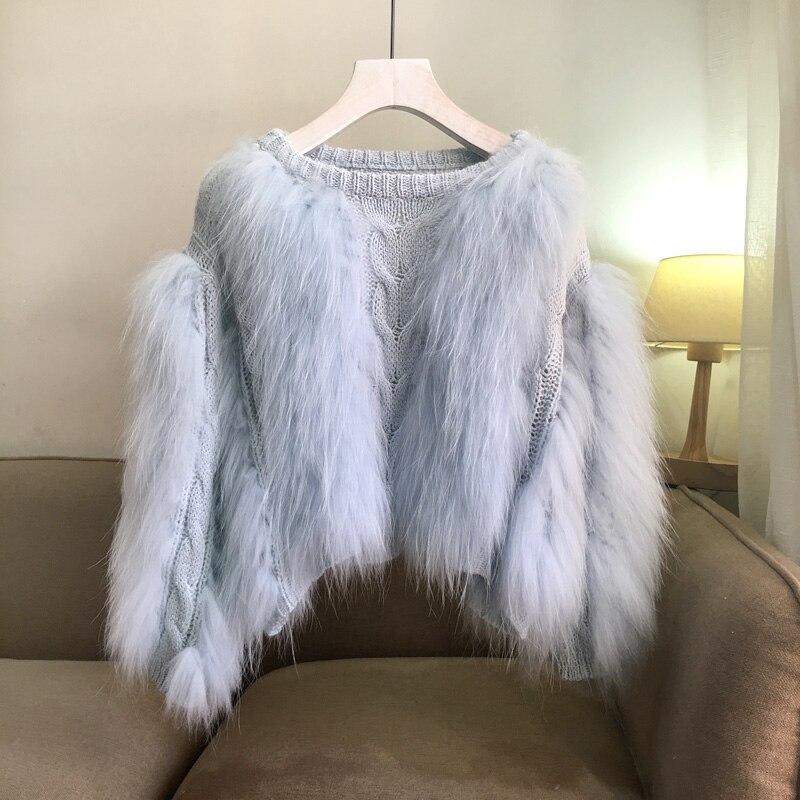 Beige bleu De Fourrure Cavalier cou Chandail Tissé Tricot lavande D'o Cheveux Femmes Nouvelles Tricoté Pull 2018 Coton blanc rose Tresse Feminino Ordinateur Cardigan Femme EPqwHqRFx