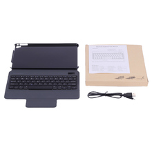 Arealer Ultra Thin Lightweight PU Leather Case Holder Stand with Wireless Bluetooth Keyboard for iPad Pro 9.7 iPad Air 2 Tablet
