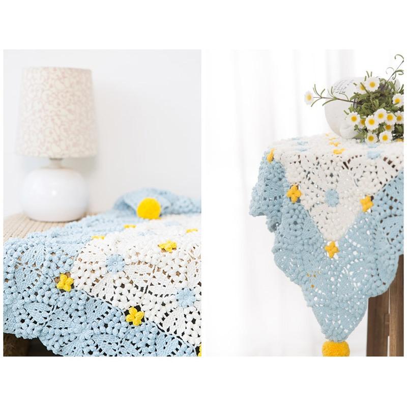 ᐂ100% hecho a mano mantas Crocheted DIY arte cuadros en el sofá 100 ...