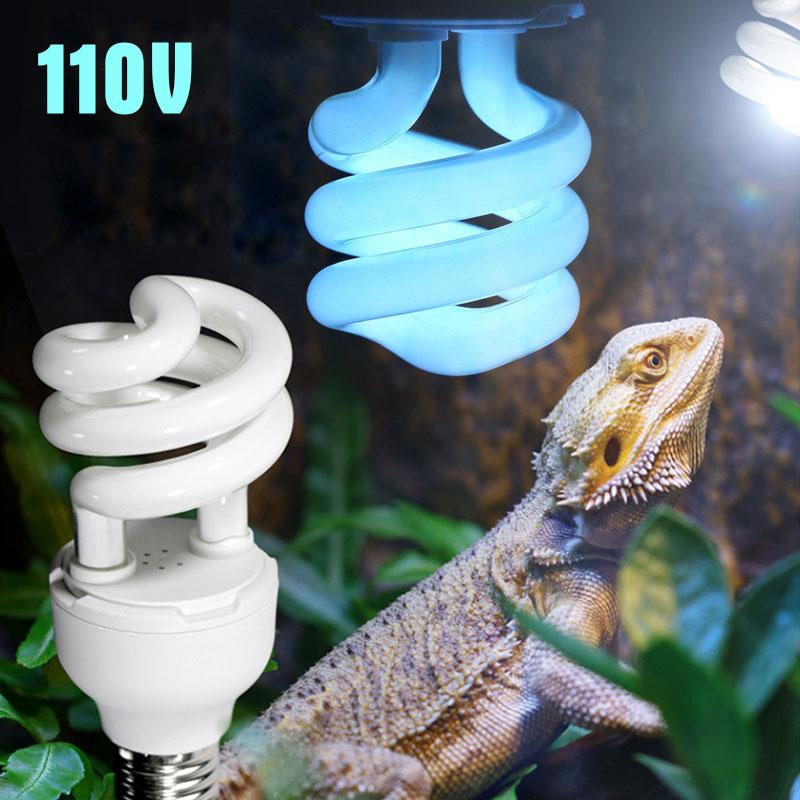 5.0 10.0 UVB 13W Reptile Light Bulb UV Lamp Vivarium Terrarium Lizard Tortoise Turtle Snake Pet Heating Light Bulb 110V E27