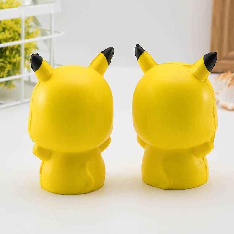Morbido Lento Aumento Squishy Giocattoli Bello Sveglio Jumbo Grande giallo Pikachu Animale Del Fumetto Squishy Giocattoli Con Buon Odore Profumato