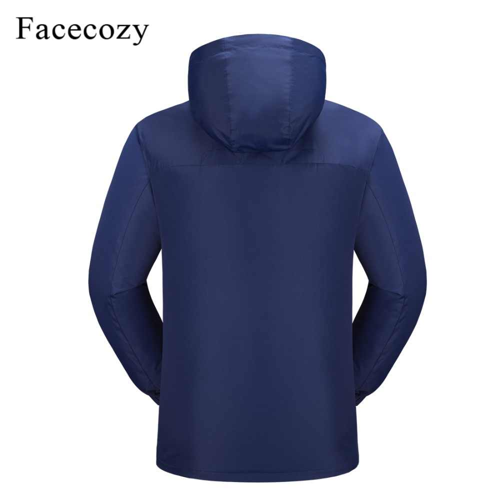 Facecozy 2019 新メンズ · レディースの屋外ソフトシェルハイキングジャケット男性春夏トレッキングキャンプ服クライミング用釣り