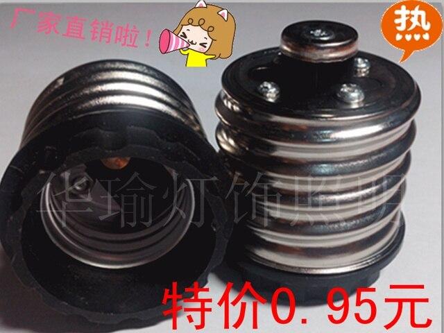 E40 e27 conversion lamp e27 e40 conversion lamp base converter big screw-mount small screw-mount