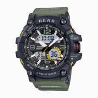 2018 relojes deportivos para hombre impermeable reloj Digital LED gran dial reloj hombre 90001 Montre Homme militar hombres Relojes
