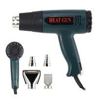 1600W Hot Air Gun Thermostat Heat Gun Hot Air Blower Shrink Wrapping Thermal power tool Soldering Gun Heat Air Gun