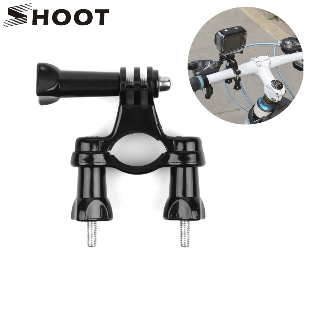 SHOOT Bicycle Mount Bike Handlebar Seatpost Tripod Holder Clamp For Gopro Hero 8 7 6 5 4 SJCAM SJ4000 Xiaomi Yi 4K Cam Accessory