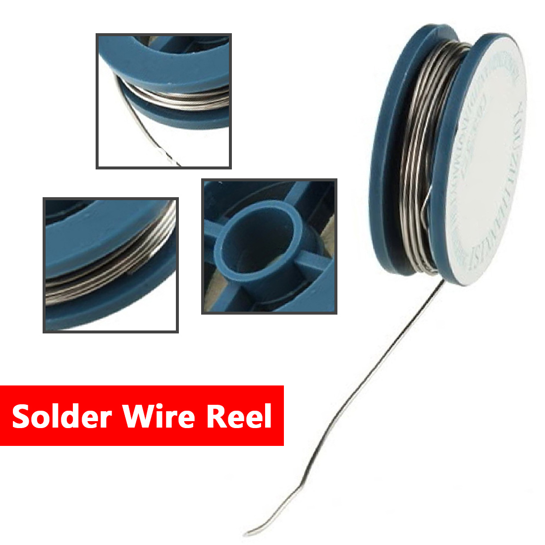 High Quality Hot Selling Wire Plate Weld Coil 1*0.8mm Tin Rosin Core Flux Rosin Wire Plate Flux And Welding Tin Solder