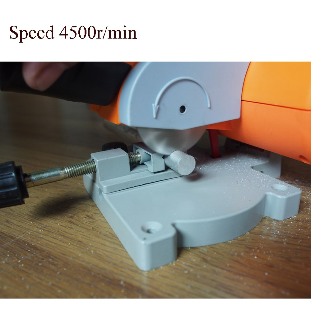 Cutting Machine high speed Bench Cut off Saw Steel Blade for cutting Metal Wood Plastic with Adjust Miter Gauge-in Cases from Consumer Electronics    3