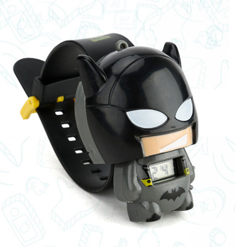 Toy For Children Watch Girl Boy  Batman Captain America Kids Watches Nijago Hulkbuster Iron Man Spiderman