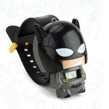 Toy for Children Watch Girl Boy Batman Captain America Kids