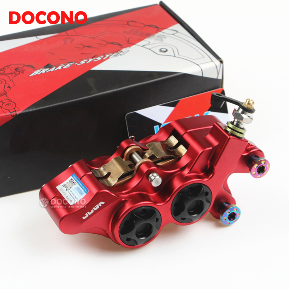 Motorcycle HF6 CNC right side 4 piston brake pump caliper For honda xr 250 nc750x cbr 125r crf 150r 250l goldwing gl1800 cb400 gps навигатор bushnell backtrack d tour red