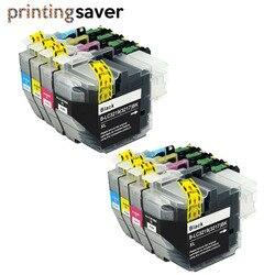 8 sztuk LC3219 LC3219XL pełny pojemnik z tuszem do brat MFC J5330DW J5335DW J5730DW J5930DW J6530DW J6935DW drukarki lc3217 w Tusze do drukarek od Komputer i biuro na