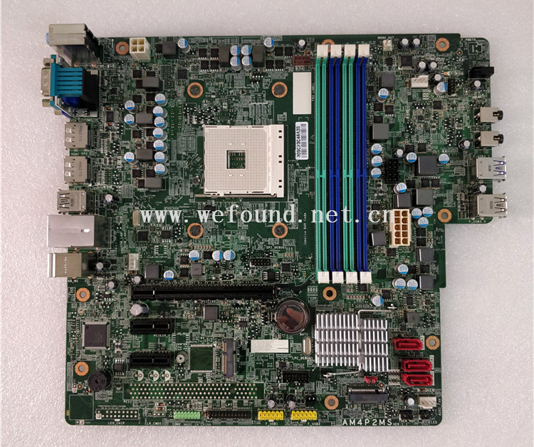 100% travail carte mère de bureau pour AM4P2MS AM4 950 DDR4 carte système entièrement testé