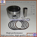 QZ high precision high performance high quality 4 strokes motorcycle engine parts 49mm CRYPTON piston and rings kit
